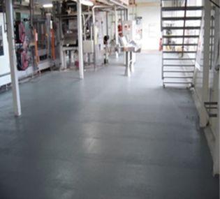 設備機械室床_活用事例|耐衝撃、超高速硬、防水、耐薬品、ポリウレアコーティング材