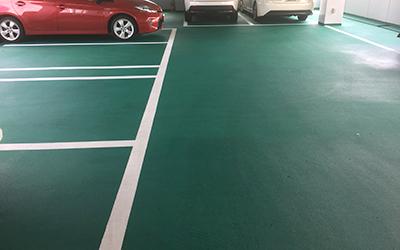 ④翌日から駐車場使用
