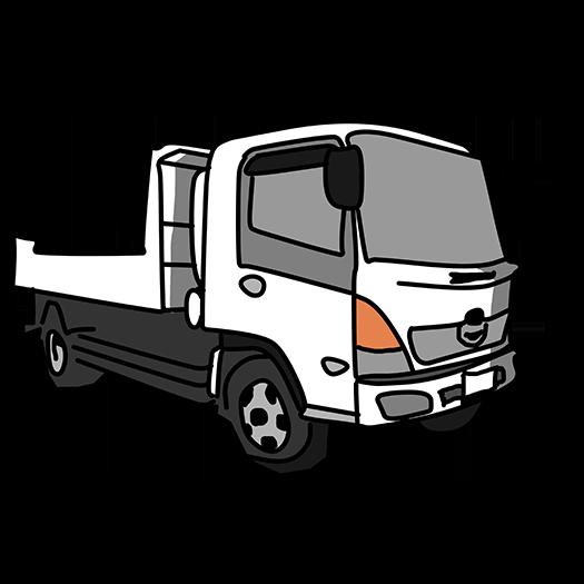トラックなどの荷台